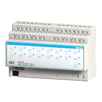 16-fold binary output / 8-fold blind actuator